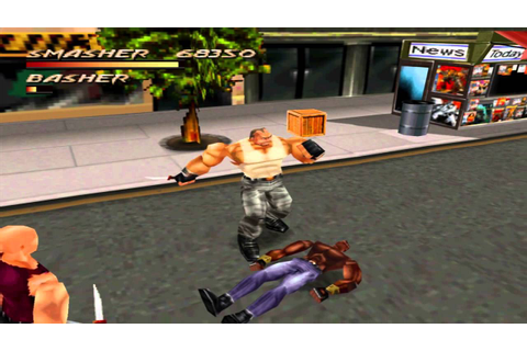 Fighting Force (PS1) walkthrough - Street - YouTube