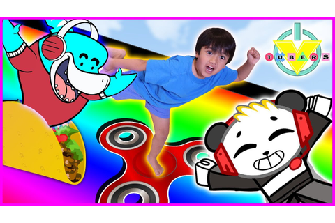 RYAN plays Roblox Slide Down + Get Eaten Games vs. Mommy ...