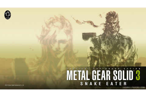 Metal Gear Solid 3: Snake Eater Full HD Wallpaper and ...