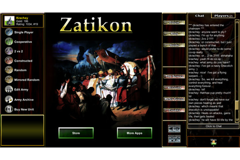 Armies of Zatikon: Trading Cards & Chess- A Multiplayer ...