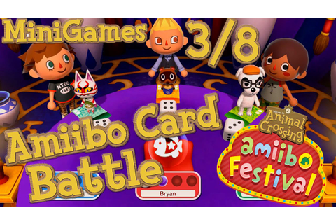 ABM: AC Mini Games *Amiibo Card Battle* Gameplay!! 3/8 ...