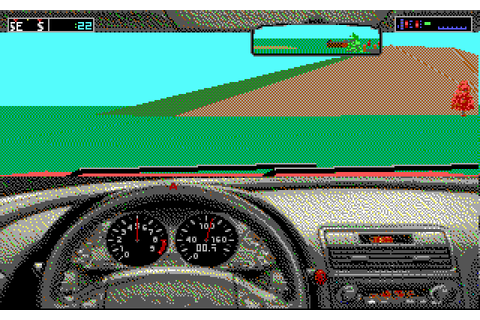 Test Drive III: The Passion (1990 - DOS). Ссылки, описание ...