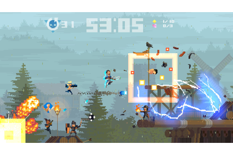 Super Time Force Ultra PS4 and PS Vita adds Journey and ...