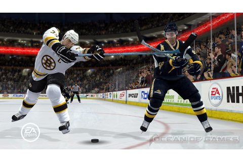 NHL 09 Free Download - Ocean Of Games