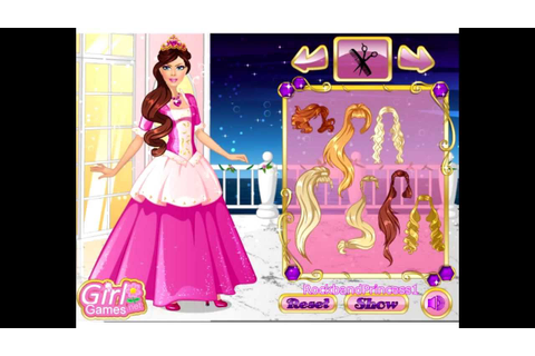 Barbie Princess Dress Up Game - Barbie Games For Girls To ...