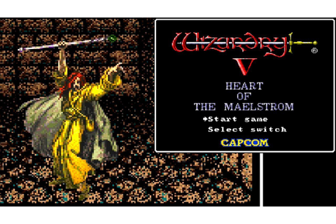 Wizardry V: Heart of the Maelstrom ... (SNES) - YouTube