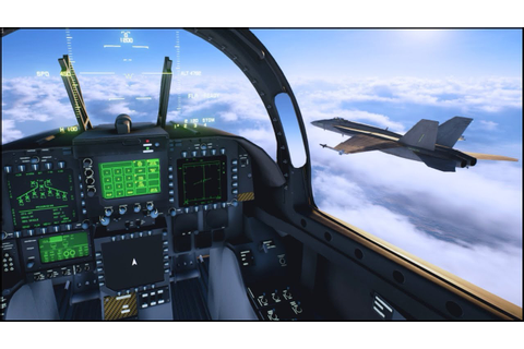 NEW COMBAT FLIGHT SIMULATOR - YouTube