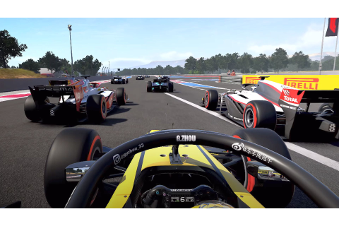 Here's your first look at F1 2020 gameplay | PCGamesN