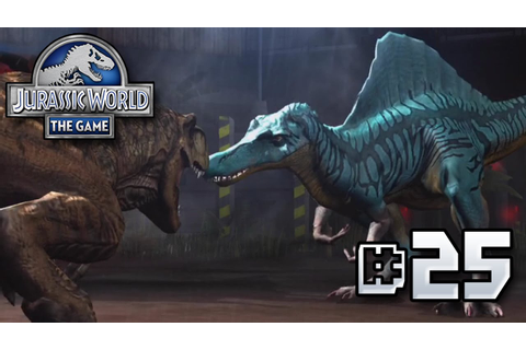 The Rematch! || Jurassic World - The Game - Ep 25 HD - YouTube