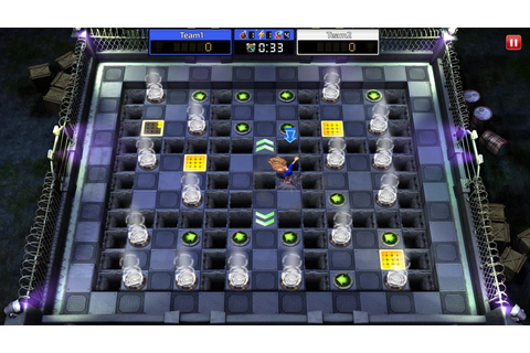 Blast Zone! Tournament, a Bomberman-style competitive game ...