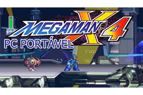 Megaman X4 PC Portável + LINK DOWNLOAD - YouTube