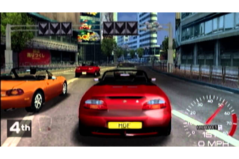 MSR Metropolis Street Racer Review for the Dreamcast - YouTube