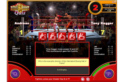 Title Bout Boxing Quiz 1.1.6 review and download