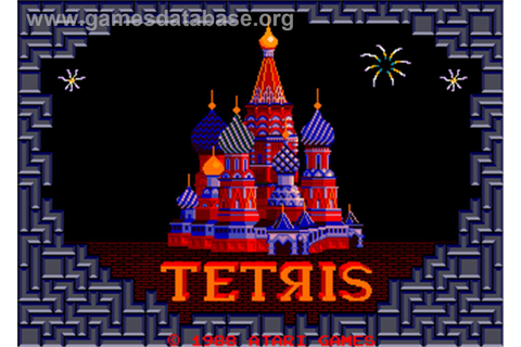 Tetris - Arcade - Games Database