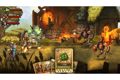 SteamWorld Quest is another great solo card game like Slay ...