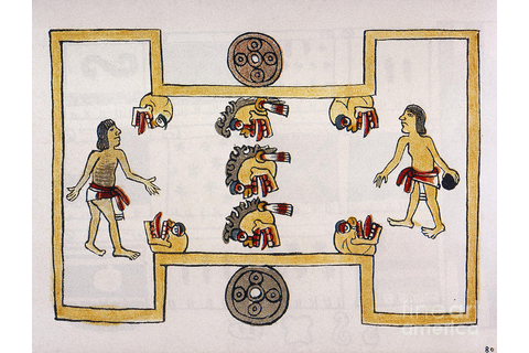 Aztec Ball Game by Granger