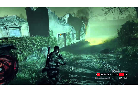 Zombie Army Trilogy Xbox One gameplay - YouTube