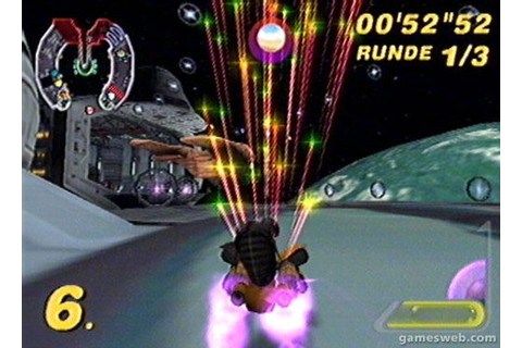 Star Wars: Super Bombad Racing: - Screenshots von Gameswelt