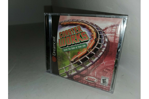 Roller Coaster Works Sega Dreamcast NEW Factory Sealed ...