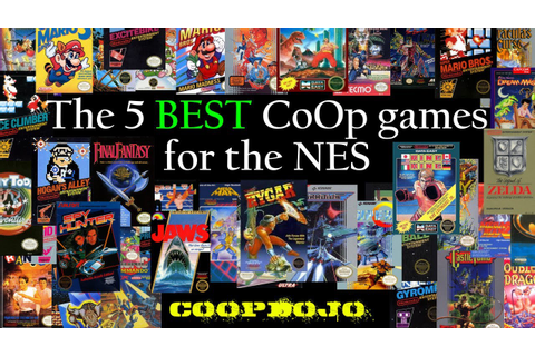 The Best CoOp Games for the NES - YouTube
