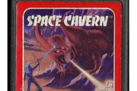 Classic Game Room - SPACE CAVERN review for Atari 2600 ...