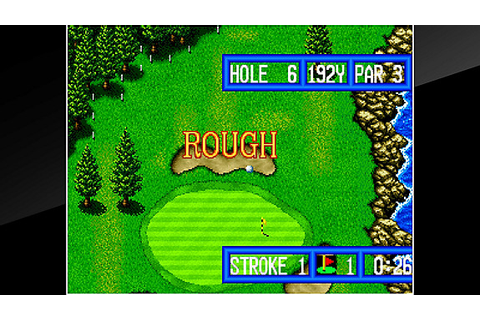 ACA NEOGEO TOP PLAYER'S GOLF Game | PS4 - PlayStation