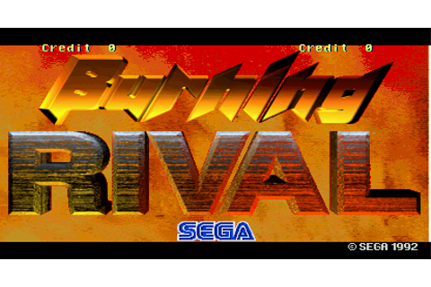 Burning Rival pcb by SEGA Enterprises, Ltd. (1993)