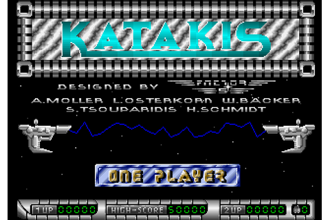 Katakis (1988) by Factor 5 Amiga game