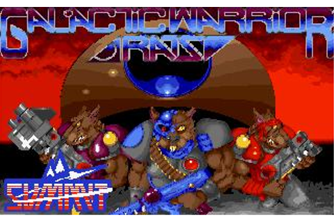 Galactic Warrior Rats Download (1993 Arcade action Game)