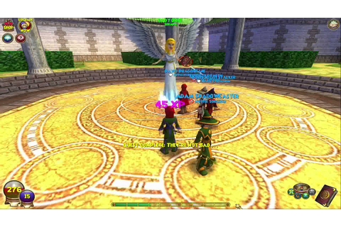 Wizard 101 Gameplay (online pc game) - YouTube