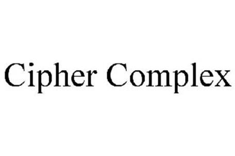 CIPHER COMPLEX Trademark of EDGE OF REALITY LIMITED ...