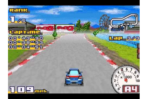 Gadget Racers (GBA) Gameplay - YouTube
