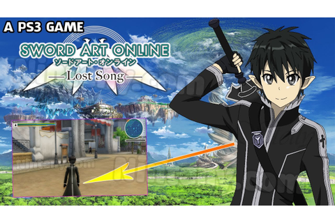 Sword Art Online Lost Song PS3 - SAO Game for PC Player ...