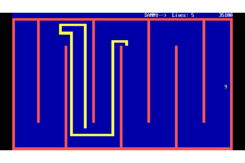 QBasic Nibbles (1990) [PC] [MS DOS] - YouTube