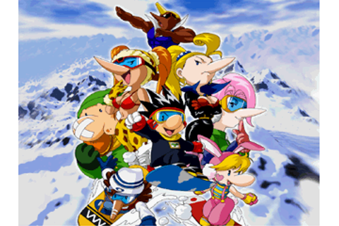 Snowboard Kids (Video Game) - TV Tropes