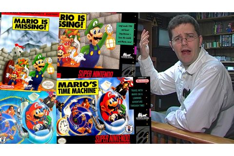 Mario is Missing - Angry Video Game Nerd - Episode 73 ...