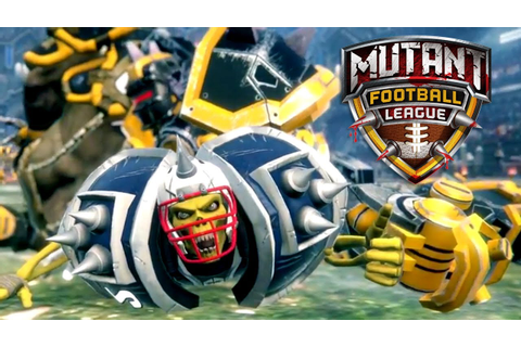 Mutant Football League - Console Launch Trailer - YouTube