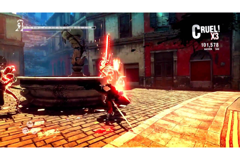 DmC Devil May Cry: Definitive Edition [PS4/XOne] Gameplay ...