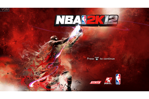 NBA 2K12 for Microsoft Xbox 360 - The Video Games Museum