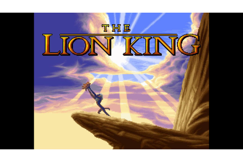 The Lion King - Game Over - YouTube