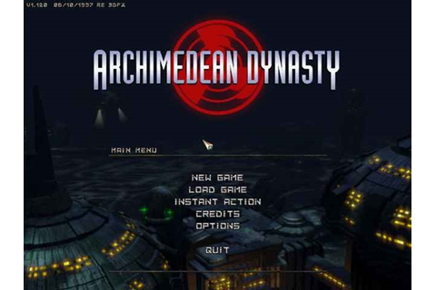 Archimedean Dynasty Game - Free Download Full Version For PC