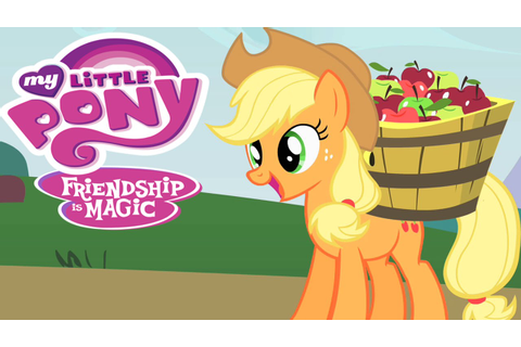 My Little Pony Applejack Find the Apples Video Game - YouTube