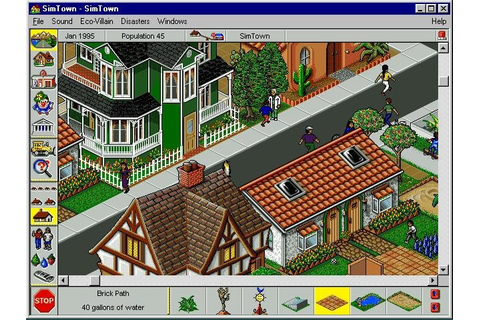 SimTown (1995) - PC Review and Full Download | Old PC Gaming