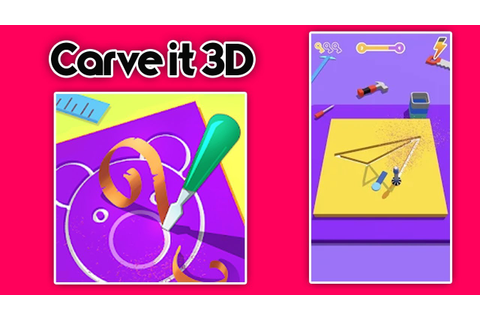 Carve it 3D (By Rollic Games) (Android) Gameplay ...