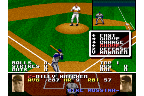 Tecmo Super Baseball Screenshots | GameFabrique