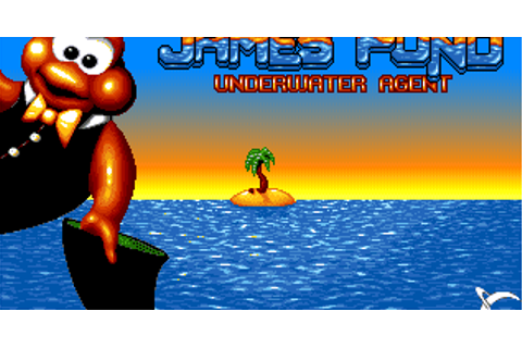 Super Adventures in Gaming: James Pond: Underwater Agent ...