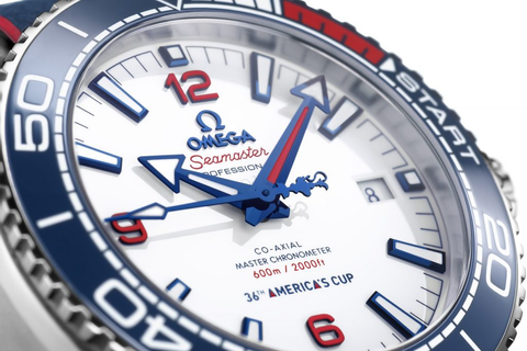 Omega Planet Ocean 600m America's Cup Edition - Watch I Love