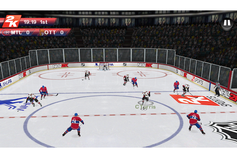 Okay, NOW NHL 2K is available on iOS, Android | Joystiq