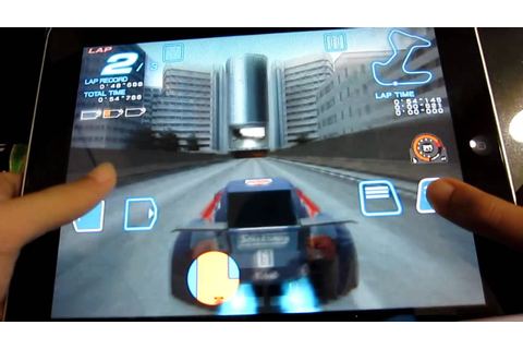 Ridge Racer accelerated HD - YouTube