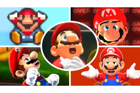 Evolution of Mario Deaths and Game Over Screens (1981-2017 ...